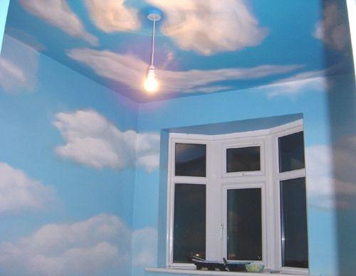 mẫu trần mây 01