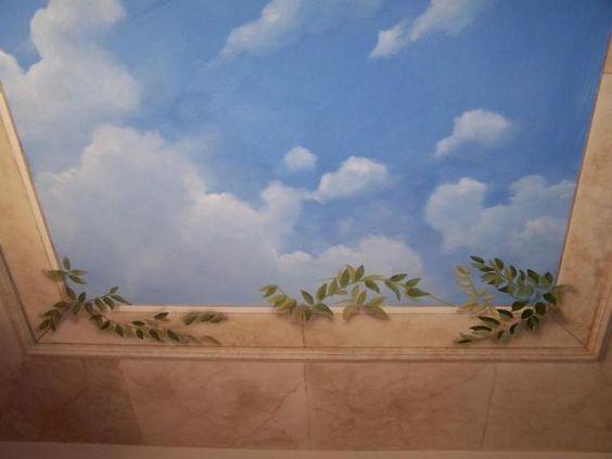 mẫu trần mây 03
