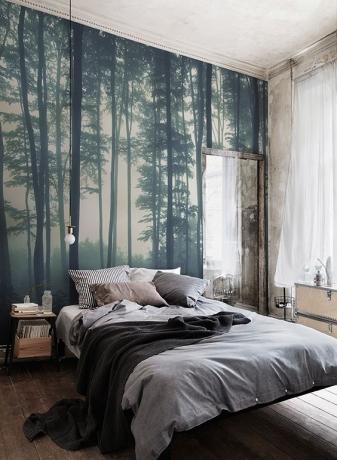 tranh phong cảnh trang trí phòng ngủ 06