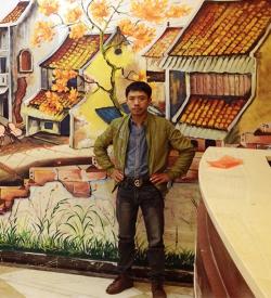 Địa chỉ vẽ tranh tường 3D phòng khách giá rẻ