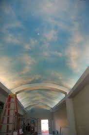 mẫu trần mây 06