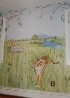 mẫu tranh trang trí phòng ngủ của bé 01