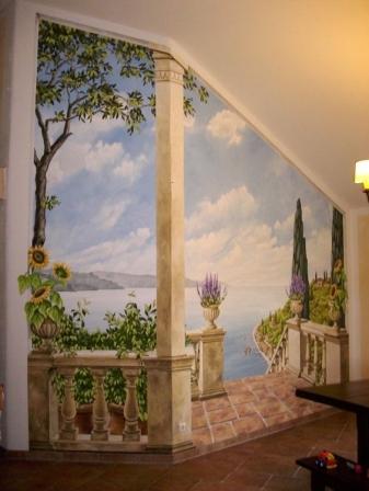 mẫu vẽ tranh phòng khách được ưa chuộng nhất 01