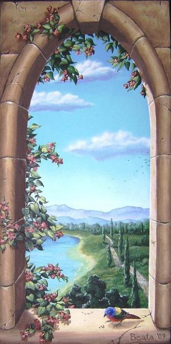 mẫu vẽ tranh phòng khách được ưa chuộng nhất 06