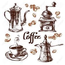 mẫu vẽ tranh quán cafe 16