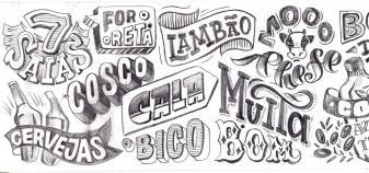 Trang trí các kiểu chữ cho quán Cafe 06