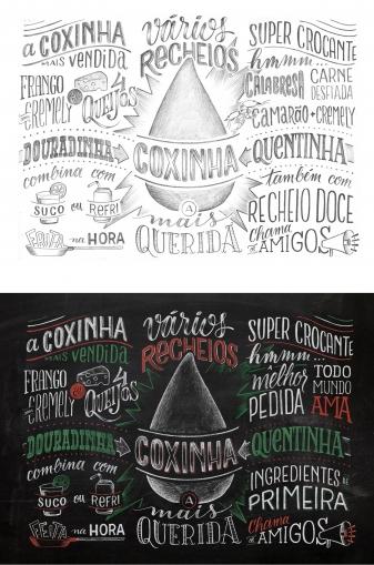 Trang trí các kiểu chữ cho quán Cafe 11