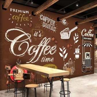 Trang trí các kiểu chữ cho quán Cafe Hà Nội 05