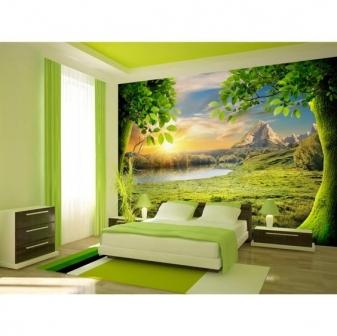 tranh phong cảnh trang trí phòng ngủ 02