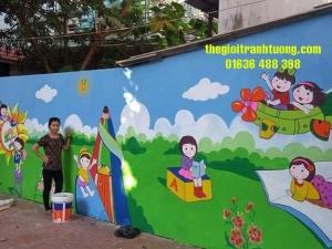 Tranh Trường mầm non Thị Xã Hoàng Mai, Nghệ An