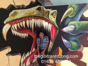 Tranh Tường 3D đẹp - Quận 9, Hồ Chí Minh