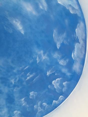 vẽ trần mây ở hà đông