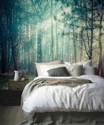vẽ tranh phong cảnh phòng ngủ 01