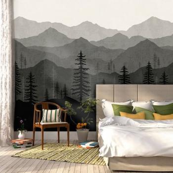 vẽ tranh tường phòng ngủ theo phong cách hiện đại 02