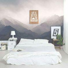 vẽ tranh tường phòng ngủ theo phong cách hiện đại 03