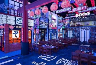 Vẽ tranh tường quán cafe, trà sữa theo phong cách hongkong 02