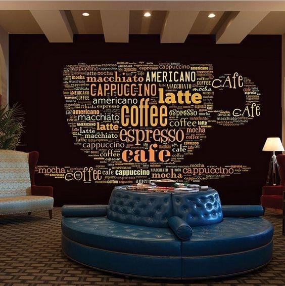 Trang trí các kiểu chữ cho quán Cafe 02