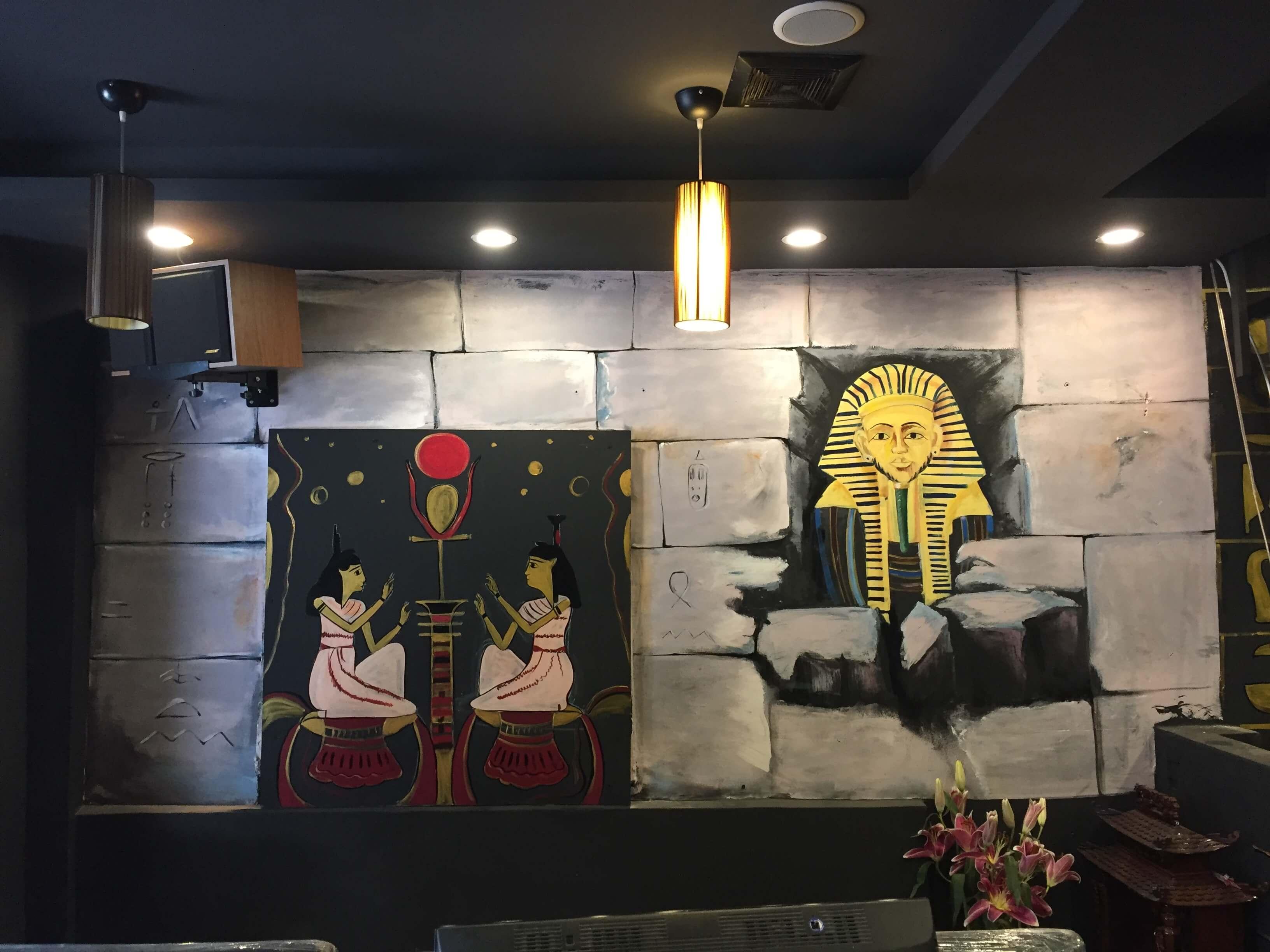 Vẽ tranh quán cafe đào duy từ