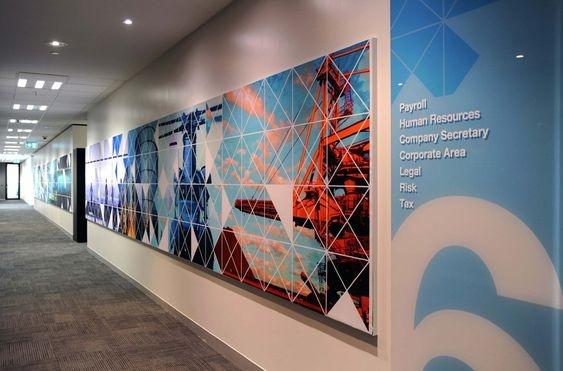 vẽ tranh tường công ty 06