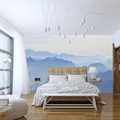 vẽ tranh tường phòng ngủ theo phong cách hiện đại 01